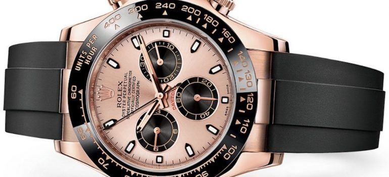 Rolex Daytona Ever Rose